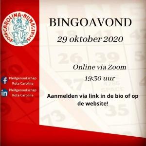 Bingoavond (29-10-2020)